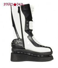SteamPunk Men Boots with Spike (Storm)