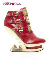 SteamPunk Sale Wedge Platform Ankle Boots (Gleam)
