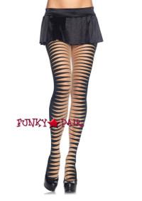 LA7936, Striped Pantyhose