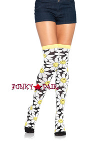 LA6910, Daisy Thigh High Sock