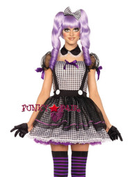 3PC Dead Eye Dolly Costume