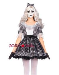 3PC Pretty Porcelain Doll Costume