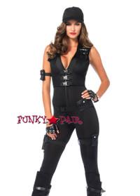 5PC Deluxe SWAT Commander Costume