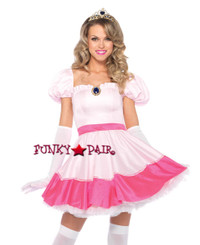 2PC Pink Princess Costume