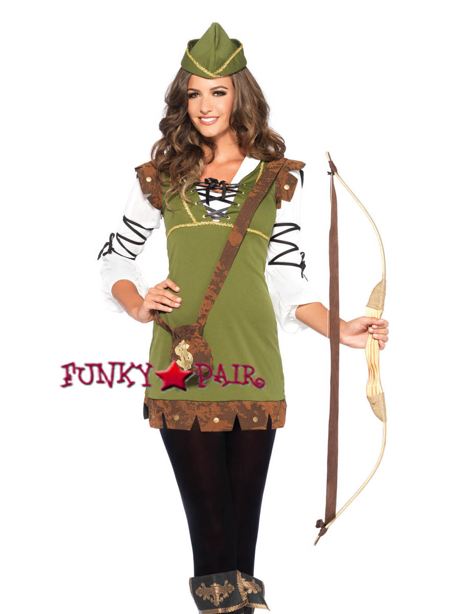LA85366 Classic Robin Hood Costume  sc 1 st  FunkyPair & 3PC Classic Robin Hood Costume