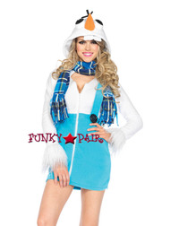 Cozy Snowman Costume
