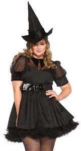 LA85238X, 3PC Bewitching Witch Costume