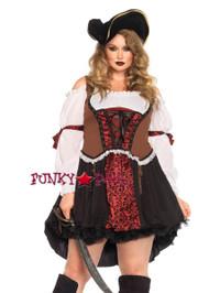 LA85371X, Ruthless Pirate Wench Costume