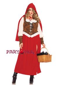 LA85376X, 3PC Woodland Red Riding Hood