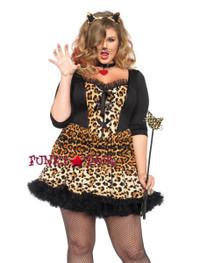 LA85504X, 4PC Wildcat Costume