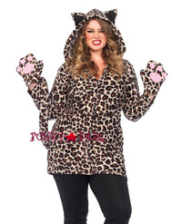 LA85313X, Cozy Leopard Costume