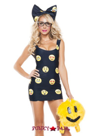 Happyface Emoji Costume (S5112)
