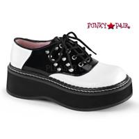 Emily-303, 2 inch Saddle Shoes