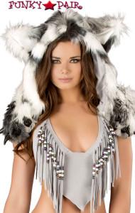 CS216, Silver Indian Claw Hood