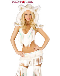 White Indian Costume (CS220)