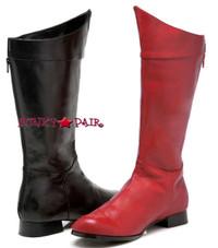 121-SHAZAM, Men Super Hero Boots,COSTUME BOOTS