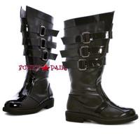 125-DARTH, Men Buckles Boots,COSTUME BOOTS
