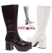 312-Simmons, 3 inch men platform boots,COSTUME BOOTS