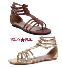 015-ROME, Strappy Gladiator Sandal,COSTUME SHOES