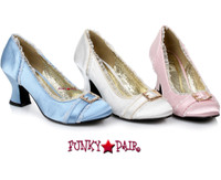 254-Edith, 2.5 Inch Satin Shoes with Buckles,COSTUME SHOES