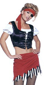 Sexy Pirate costume (8982)