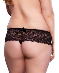 LA3000X, Lace Open Crotch Thong