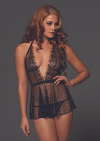 LA81520, Point D'esprit Babydoll