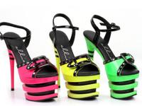 613-Alexia, 6 Inch Triple Decker Platform Sandal
