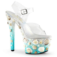 Sky-308MERMD. 7 Inch High Heel Mermaid Sandal