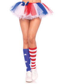 LA5604, Star and Stripes Knee High