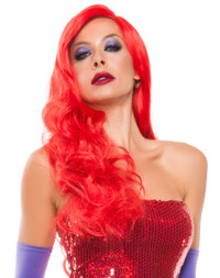 W5087, RED HOT RABBIT WIG