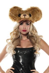 BEAR FUZZY HAT