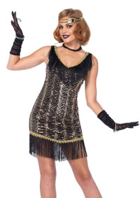 LA85543, Charleston Charmer Flapper Girl Costume