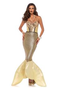 LA85613, Golden Glimmer Mermaid