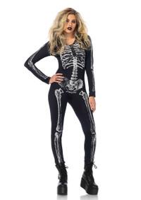 LA85602, X-ray Skeleton Catsuit