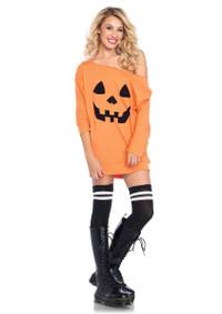 LA86655, Jersey Pumpkin Dress