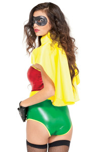 Yellow Hero Cape.