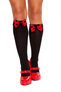 R10091B Mouse Bows For Stockings