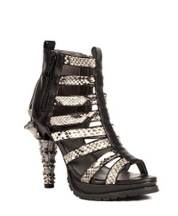 LEORA, 5 inch Cage Booties