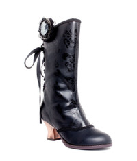 CLARA, 2.5 inch steampunk Victorian Ankle Boots