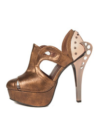 CATTEAU, 5 inch cutout sandal