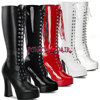 ELECTRA-2020, Lace-Up ?Boot sz 6-16 * Made by PLEASER Shoes