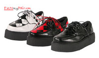 V-CREEPER-510, men's punk shoes Made by Demonia