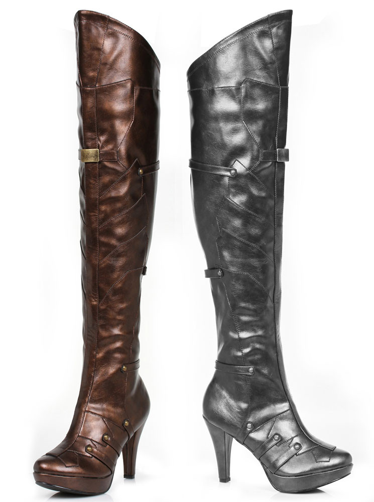 414 blair 4 inch thigh high boots