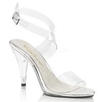 Caress-412, 4 Inch Ankle Wrap Sandal