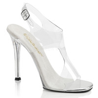 Gala-07, 4.5 Inch Heel Sling back sandal with Cutout