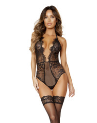 LI162, Lace Teddy