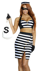 FP-557749, Sexy Robber Costume