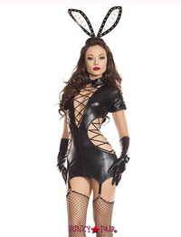 S7076, STRAPPED UP BUNNY