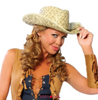 R-4029, Cowgirl Straw Hat